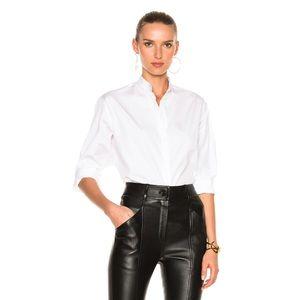 NWT Victoria Beckham Grandad womens cotton shirt